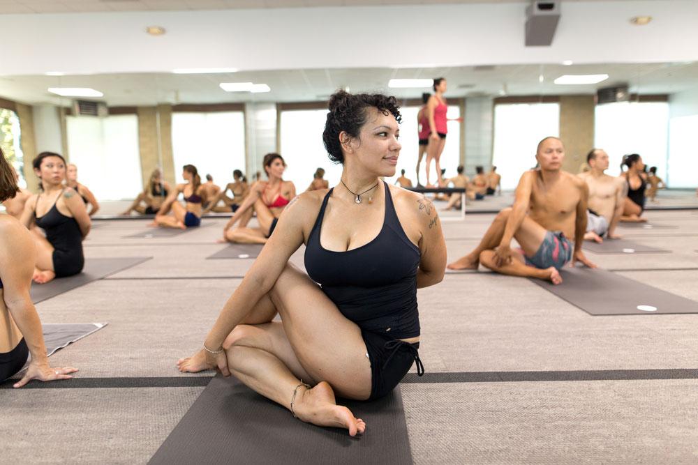 Bikram Yoga Irvine Pose 25