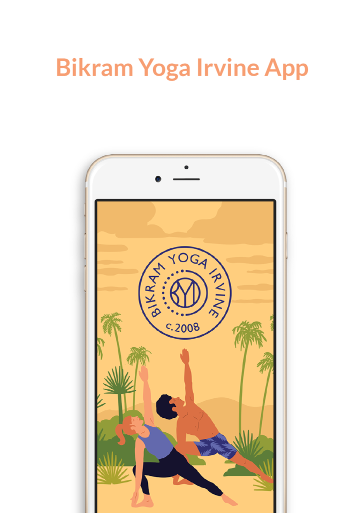 Bikram Yoga Irvine App, schedule classes, make purchases and more