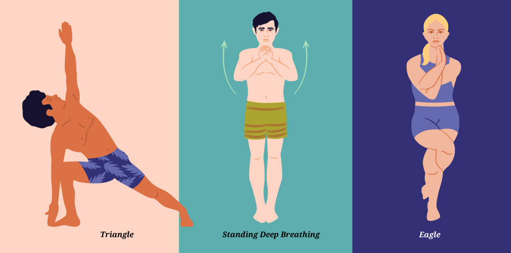 Bikram Poses Illustrated