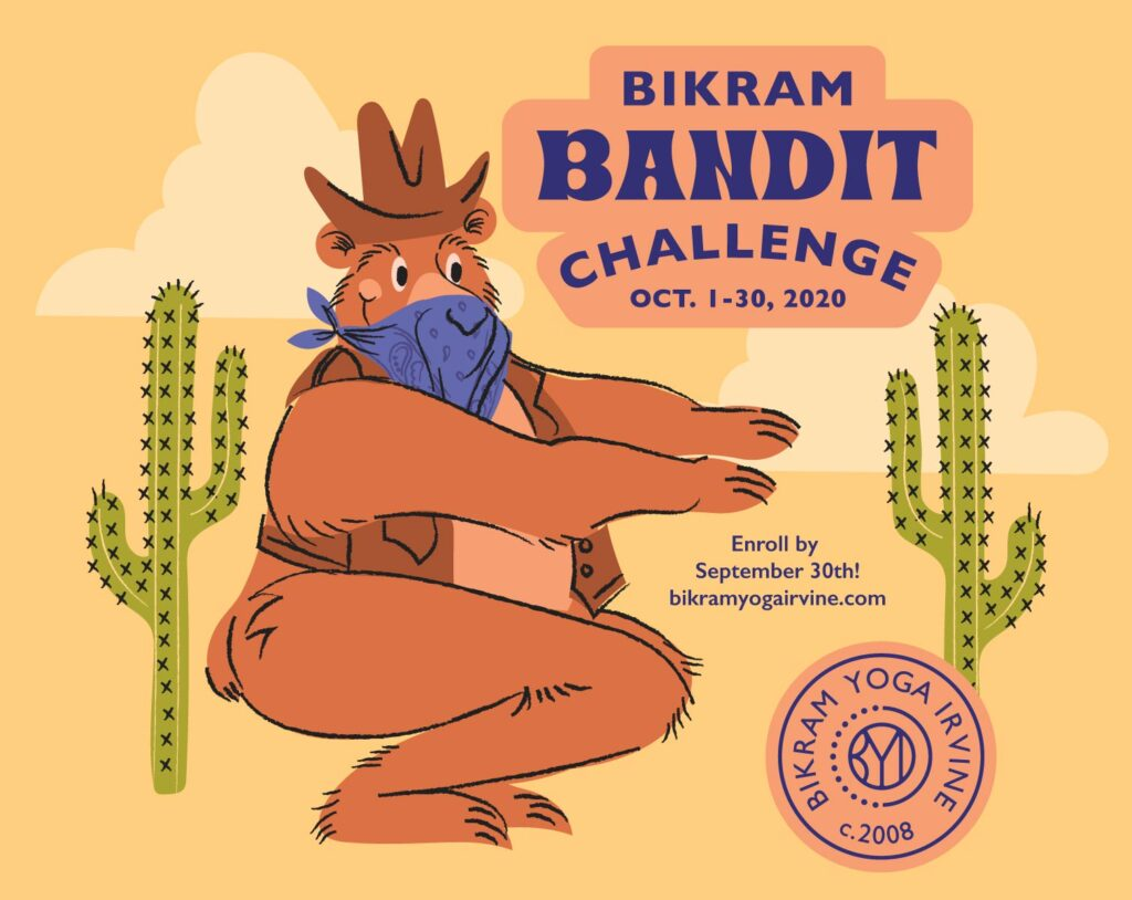 Bikram Yoga Irvine Bandit Challenge