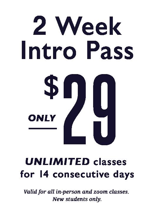 2 week intro pass for Bikram Yoga Irvine