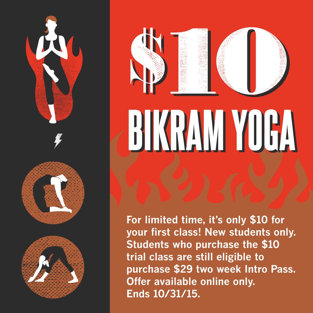 $10 Bikram Yoga in Irvine